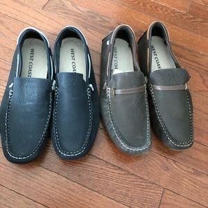 WEST COAST men's suede shoes
